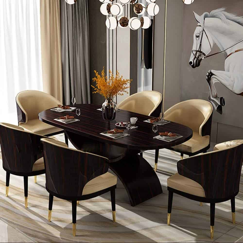 Full Three-Dimensional Backrest Dining Chair