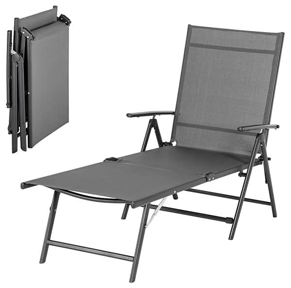 Esright Outdoor Chaise Lounge Chair