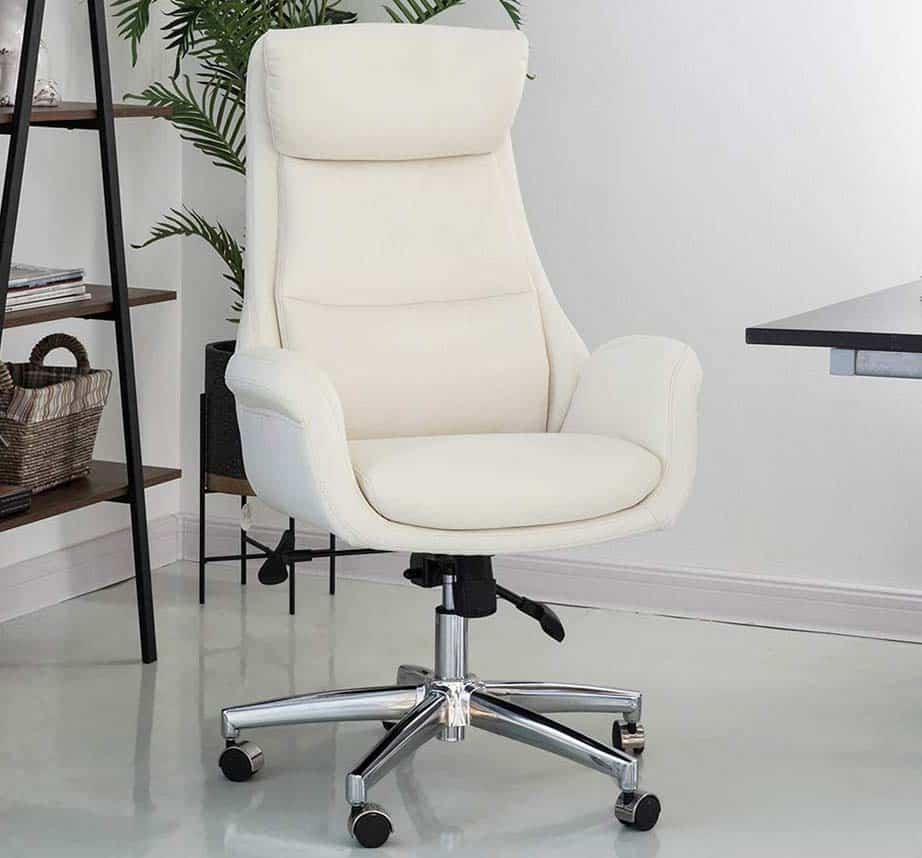 Glitzhome Leather Office Chair