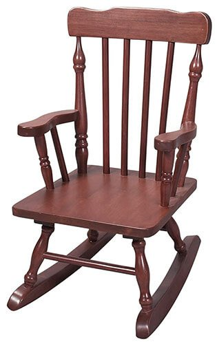Gift Mark Colonial Rocking Chair
