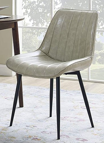 Volans Retro Leather Dining Chair