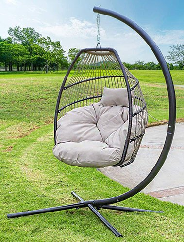 Barton Outdoor Hanging Lounge Chair